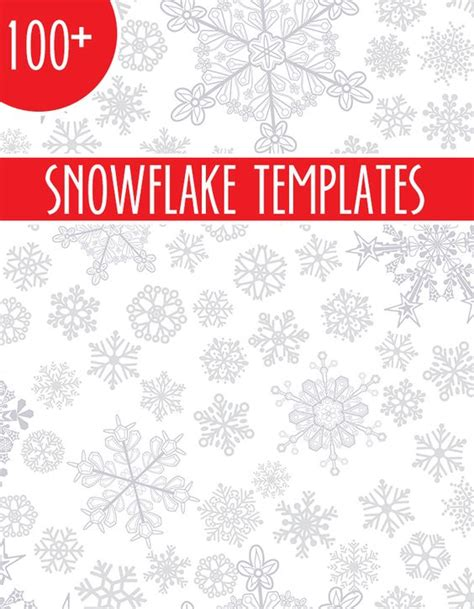 deer snowflake printable template over 100 snowflake templates including star wars frozen