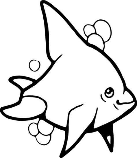 dolphin  black  white  coloring  vector