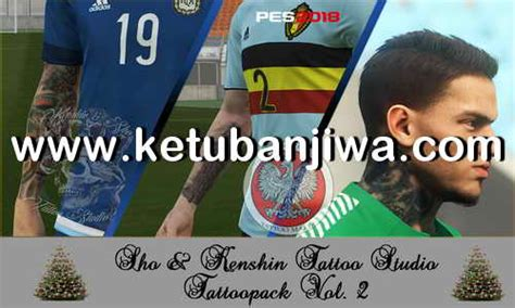 tattoo pack pes 2018 pes 2018 ks tattoos pack v2