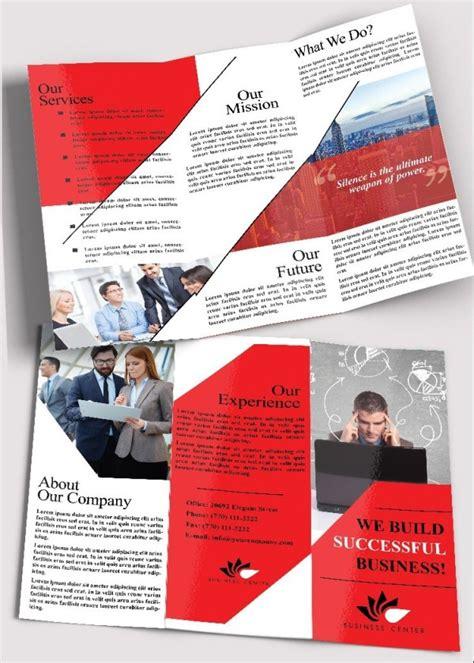 65 Print Ready Brochure Templates Free Psd Indesign Ai Download Psdtemplatesblog Free E Brochure Templates