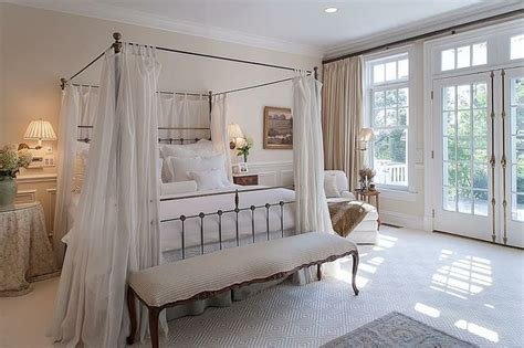 dreamy master bedroom french doors home decor