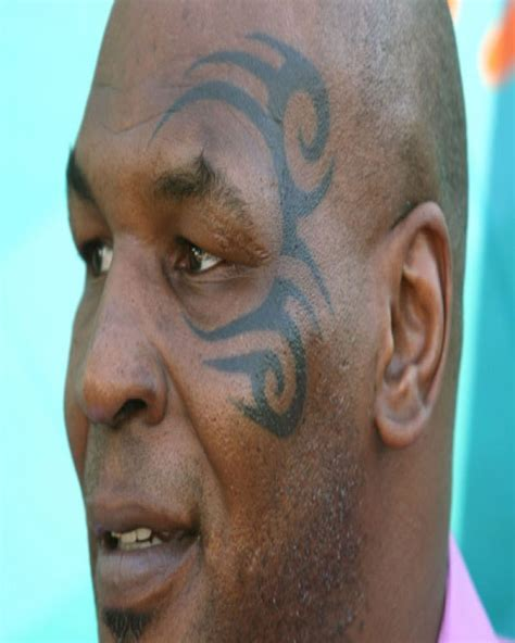mike tyson tattoo meaning 20 of the worst tattoos thuglifer