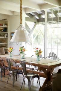 Modern Farmhouse Dining Room Table A Modern Farmhouse In South Carolina Affaire With Interiors