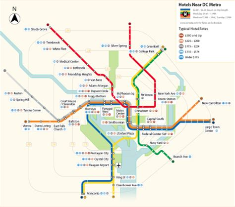 washington dc tourist map with metro stops things to do on the dc metro yellow line hotel listings