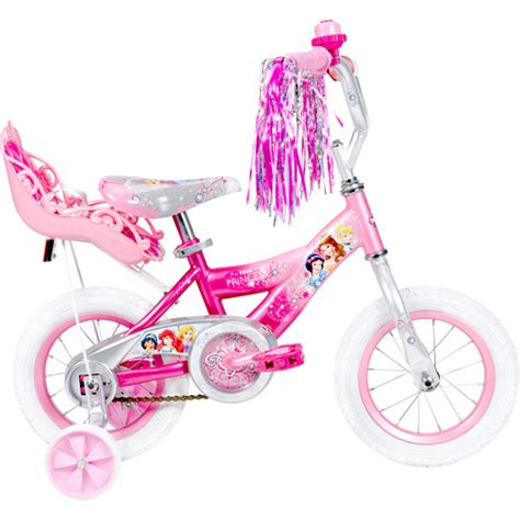12 quot huffy disney princess bike with doll carrier