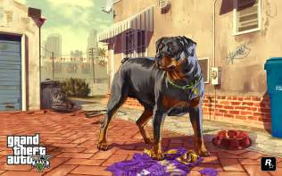 gta 5 ps4 themes wallpaper gta 5 gta v grand theft auto game dog