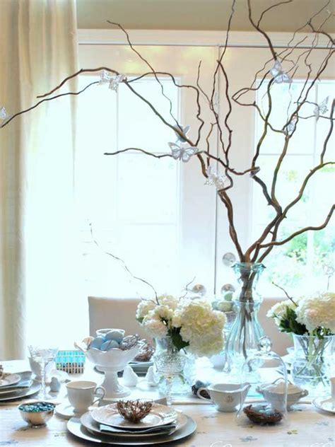 creative easy diy tablescapes ideas  easter