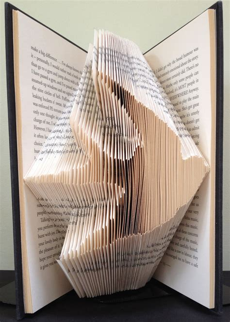 folded book template flying book folding pattern diy gift for folded