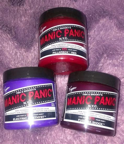 manic panicbox dye katsick my thoughts on manic panic pillarbox red from
