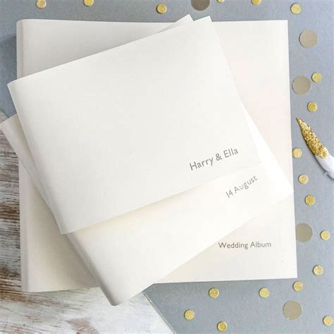 Wedding Albums Leather by Leather Wedding Album By Begolden Notonthehighstreet