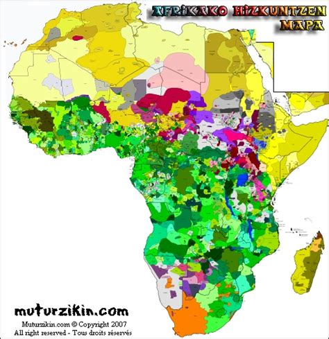 africa map of languages beyond niamey how many speak what in africa