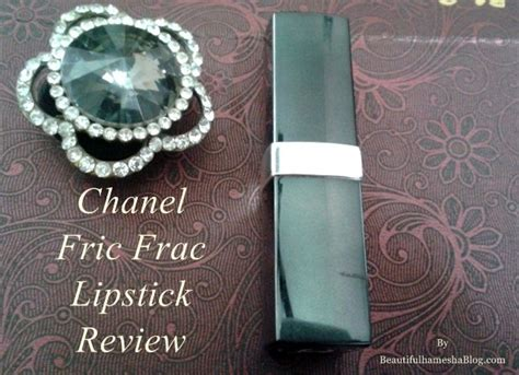 Chanel Lipstick King Power chanel fric frac lipstick review