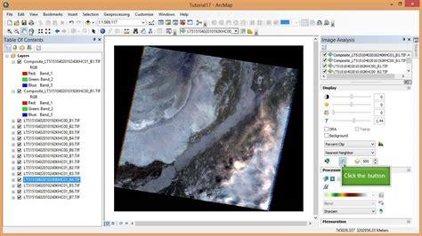 arcgis tools tutorial remote sensing in arcgis tutorial 17 change detection