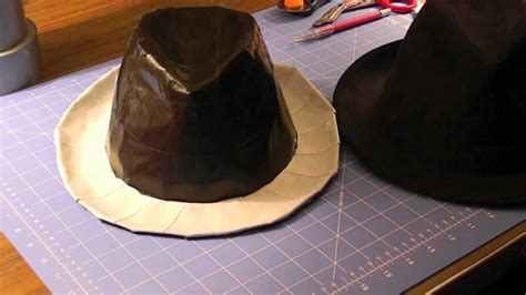 How To Make A Cowboy Hat Out Of Paper - how to make a duct fedora