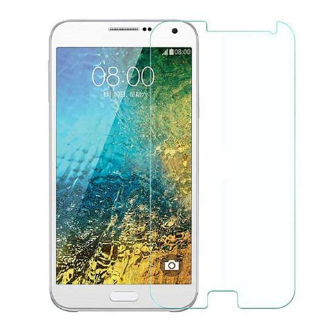 Tempered Glass E5 asling 0 26mm tempered glass for samsung e5 e5000 transparent free shipping dealextreme
