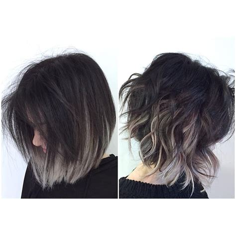 putting silver on brown hair 25 gorgeous purple grey hair ideas on pinterest can