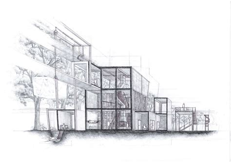 Sketches 4k by Architecture Process Drawing By A Chard On Deviantart