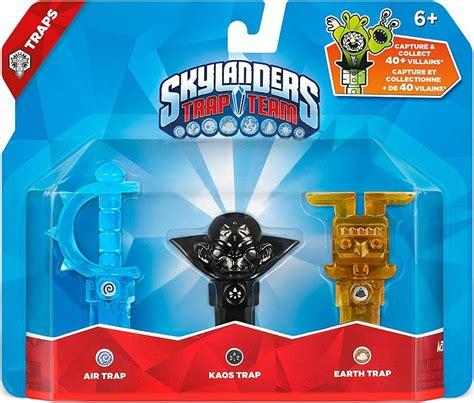 Kaos Air 3 skylanders trap team air earth kaos trap 3 pack