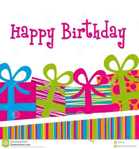 imagenes originales de happy birthday tarjeta del feliz cumplea 241 os ilustraci 243 n del vector