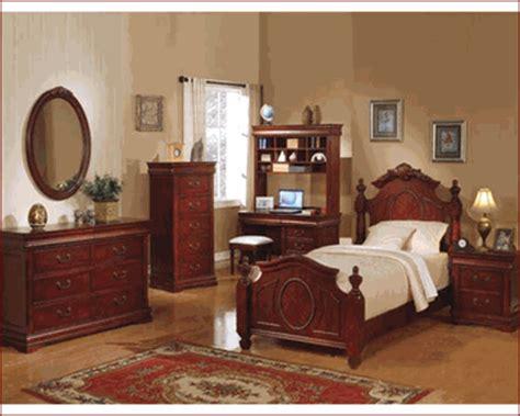 acme furniture bedroom set in cherry ac08670tset acme furniture bedroom set in cherry ac11875tset