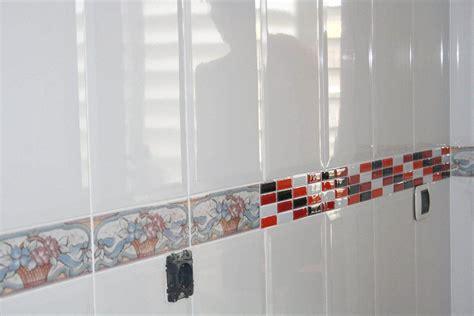 cenefas adhesivas para azulejos revestimientos decorativos para paredes bricowoman
