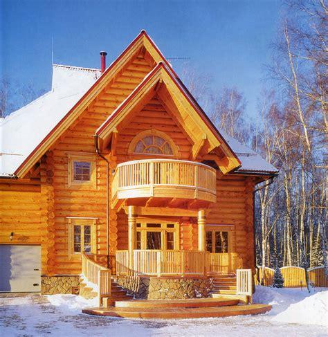 culture modern log house