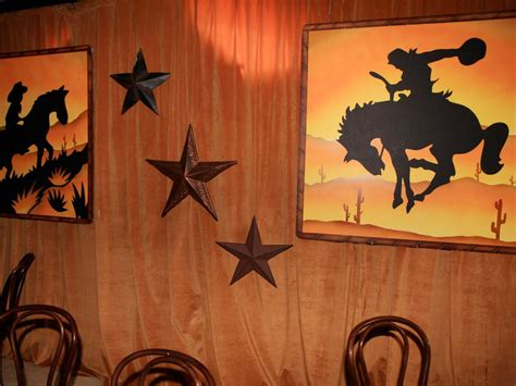 western theme decorations for home a texas style bon voyage party entertaining ideas