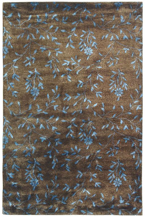 blue and brown area rugs safavieh soho soh418a brown and light blue area rug free