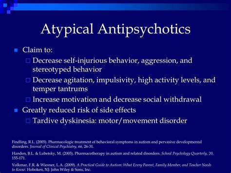 How To Detox From Antipsychotics by Ppt A Review Of Pharmacotherapy For Autism Treatment