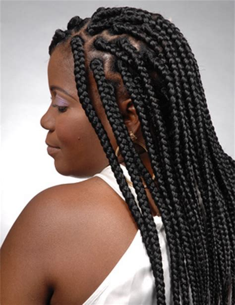 large braids styles big braids