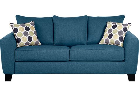 Springs For Couches by Bonita Springs Blue Sleeper Sofa Sleeper Sofas Blue