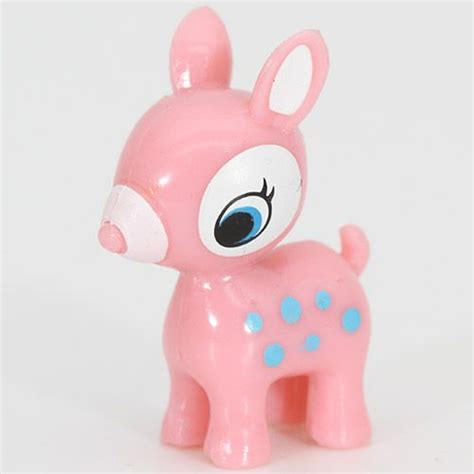 Kawai Pink pink deer miniature figure kawaii other things shop modes4u