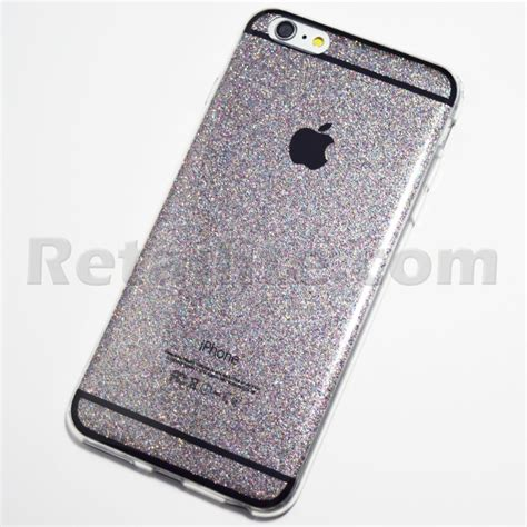 Softcase Bling Iphone 6 space grey glitter bling iphone 6 plus 6s plus