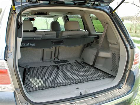 Toyota Highlander Trunk Dimensions Cargo Space Measurements For Toyota Highlander 2017