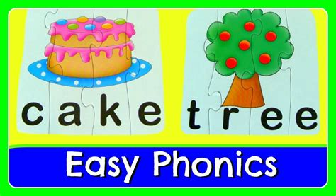 4 Letter Words Phonics learn to read spell with 4 letter sight words easy abc