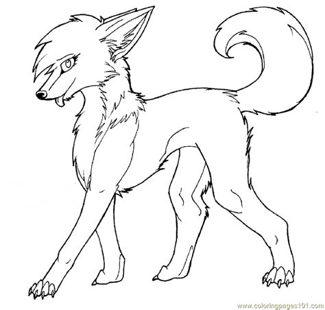 Wolf Coloring Pages For Kids Coloring Home Wolf Coloring Pages