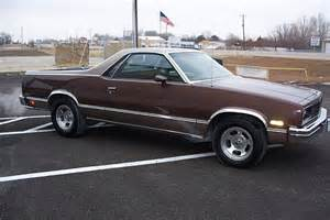 Chevrolet El Camino 1984 1984 Chevrolet El Camino Information And Photos Momentcar