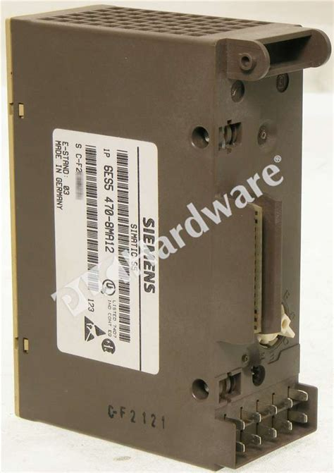 Analog Output Modul 6es5 470 8ma12 Germany plc hardware siemens 6es5470 8ma12 used in a plch packaging