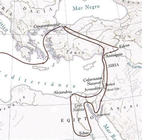viaje de egeria che cosa ha visto egeria nel suo pellegrinaggio reliquiosamente