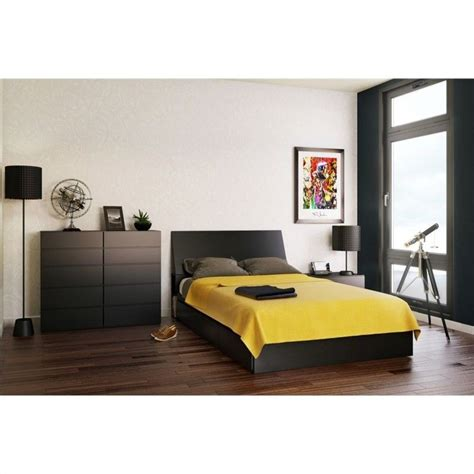 Black Storage Headboard by Storage Panel Headboard In Black 22xx06 Hb