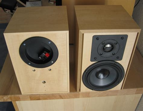 building the nc diy audio 2010 budget 2 way monitor