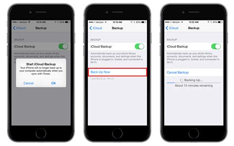 what does backup on iphone how to enable and trigger icloud backups in ios 8