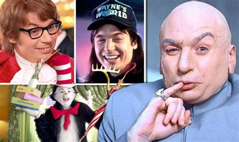 mike myers uk mike myers is a nightmare to work with says cat in the hat