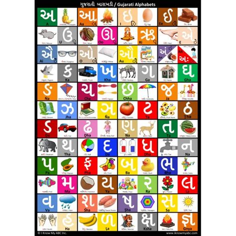 printable gujarati alphabet english hindi alphabet chart book covers