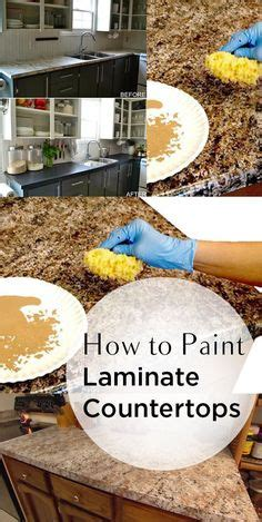 how to spray paint ugly laminate countertops home painting plastic and laminates valspar paint recommends