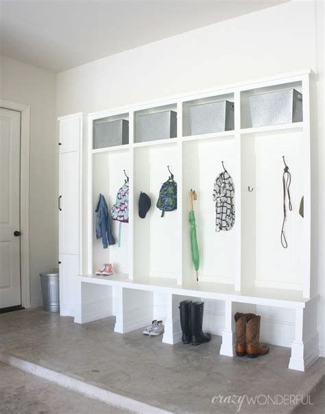 Garage Organization Mudroom Best 25 Garage Lockers Ideas On Garage Entry