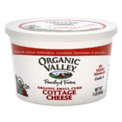 Organic Cottage Cheese Nutrition by Organic Valley Organic Cottage Cheese Small Curd