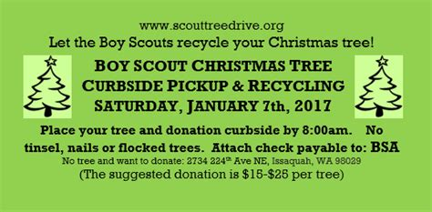 boy scouts tree recycling about us
