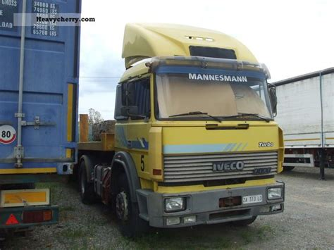 iveco fiat 190 38 1995 other semi trailer trucks photo and