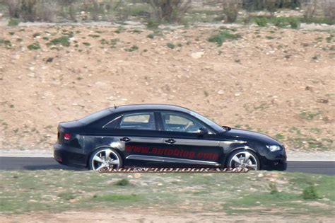Audi Erlkönig by Erlk 246 Nig Erwischt Audi A3 Limousine Ungetarnt